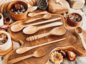 Assorted Wooden Spoon Set