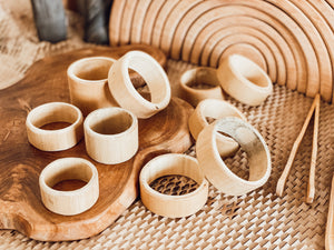 Bamboo Building Rings