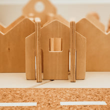 Load image into Gallery viewer, Small Wooden Houses Construction Set