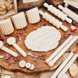 Natural Playdough Board Set
