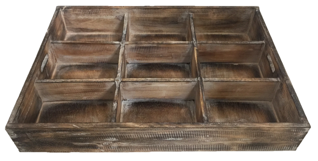 Rustic Sorting Tray Large