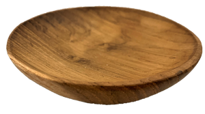 Round Wooden Plates Set Of 4