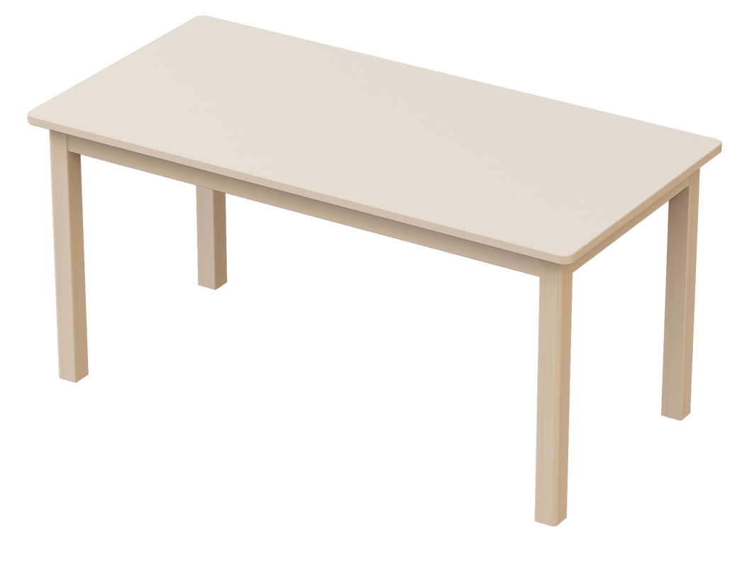 Natural Line Elegance Table Rectangle 120 x 60cm