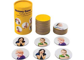 Feelings And Emotions Memory Matching