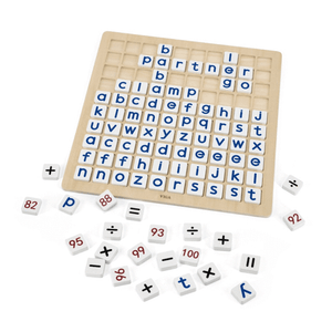 Learning Grid Alphabet & Numbers