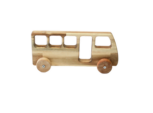 Natural Wooden Bus