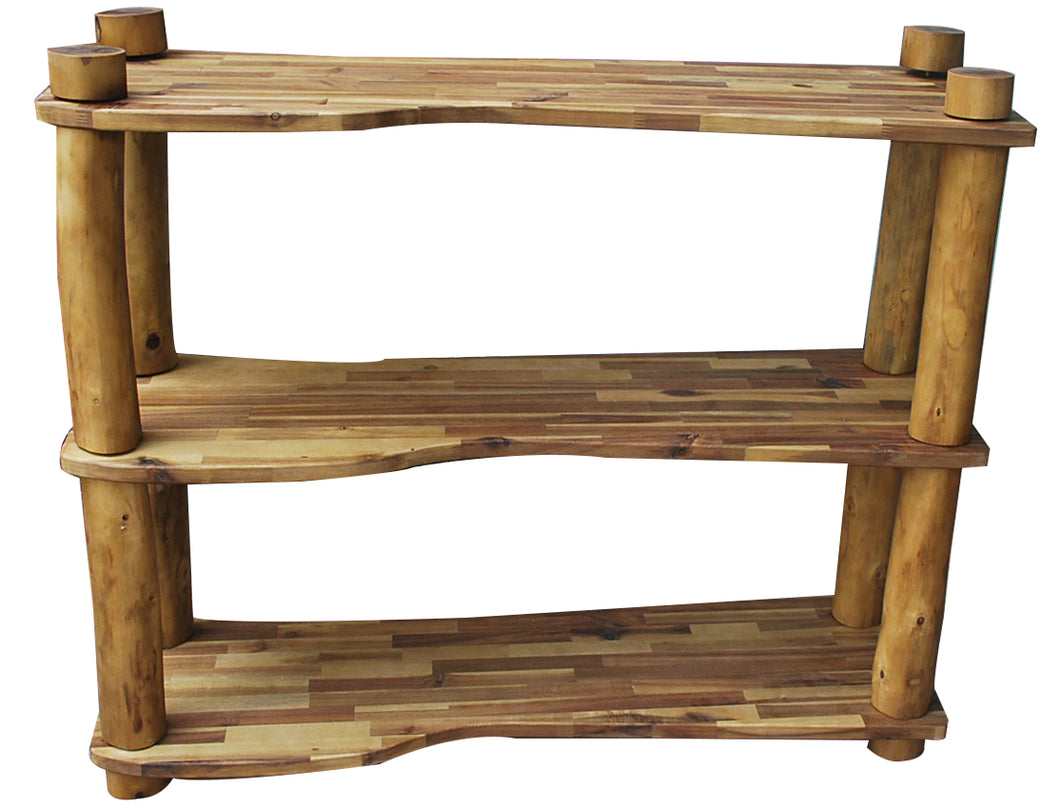 Natural Tree Branch Shelf 3 Tier