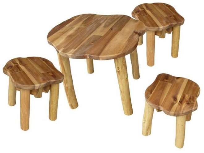 Natural Tree Branch Furniture Set Small