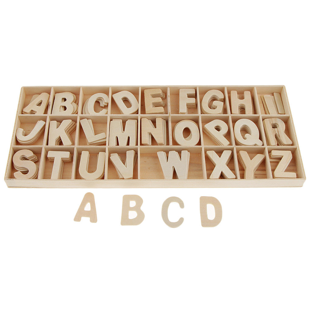 WYLTP Wooden Letter Set In Plywood Box