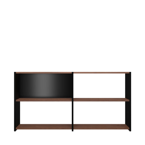sideboard rebar 2 2 nussbaum graphitschwarz joval gmbh. Black Bedroom Furniture Sets. Home Design Ideas