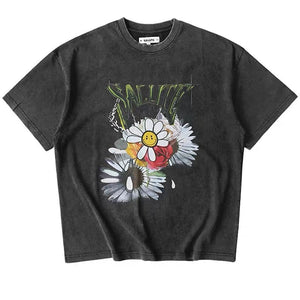 Salute Flower Anarchy TEE