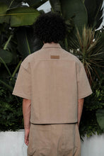 Load image into Gallery viewer, Short-sleeved Shirt Khaki