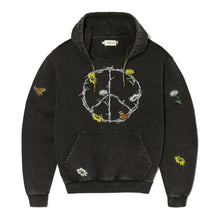 Load image into Gallery viewer, Iron Peace Pullover Hoodie - Black