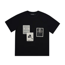 Load image into Gallery viewer, Recording T-Shirt Black
