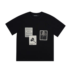 Recording T-Shirt Black