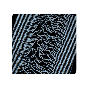 SKATEBOARD DECK Joy Division Sync. 'Unknown Pleasures'