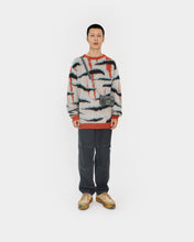 Load image into Gallery viewer, Zebra Knit Mohair Sweater