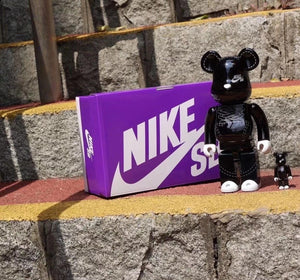 The Medicom Toy X Nike SB Be@rbricks 400% And 100% Set