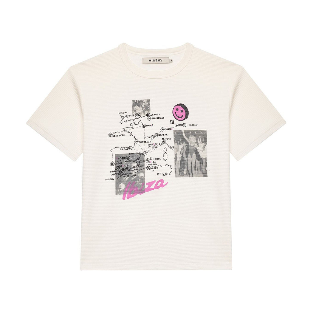 The Map Waffle T-Shirt