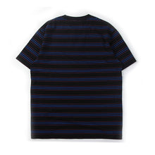 Load image into Gallery viewer, Multi Stripe Tee Black