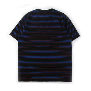 Multi Stripe Tee Black