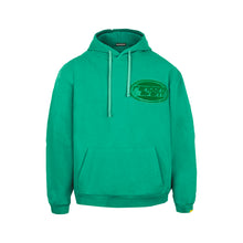 Load image into Gallery viewer, Towelling Oval Logo Hooded Sweatshirt