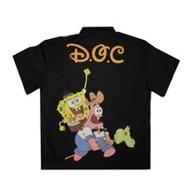 Load image into Gallery viewer, Spongebob & Patrick Work Shirt Black