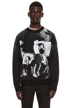Load image into Gallery viewer, Black & White Raver Sweater