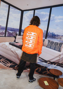 View Coach Jacket Safety Orange