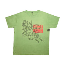 Load image into Gallery viewer, Two Tone Logo T-shirt Green