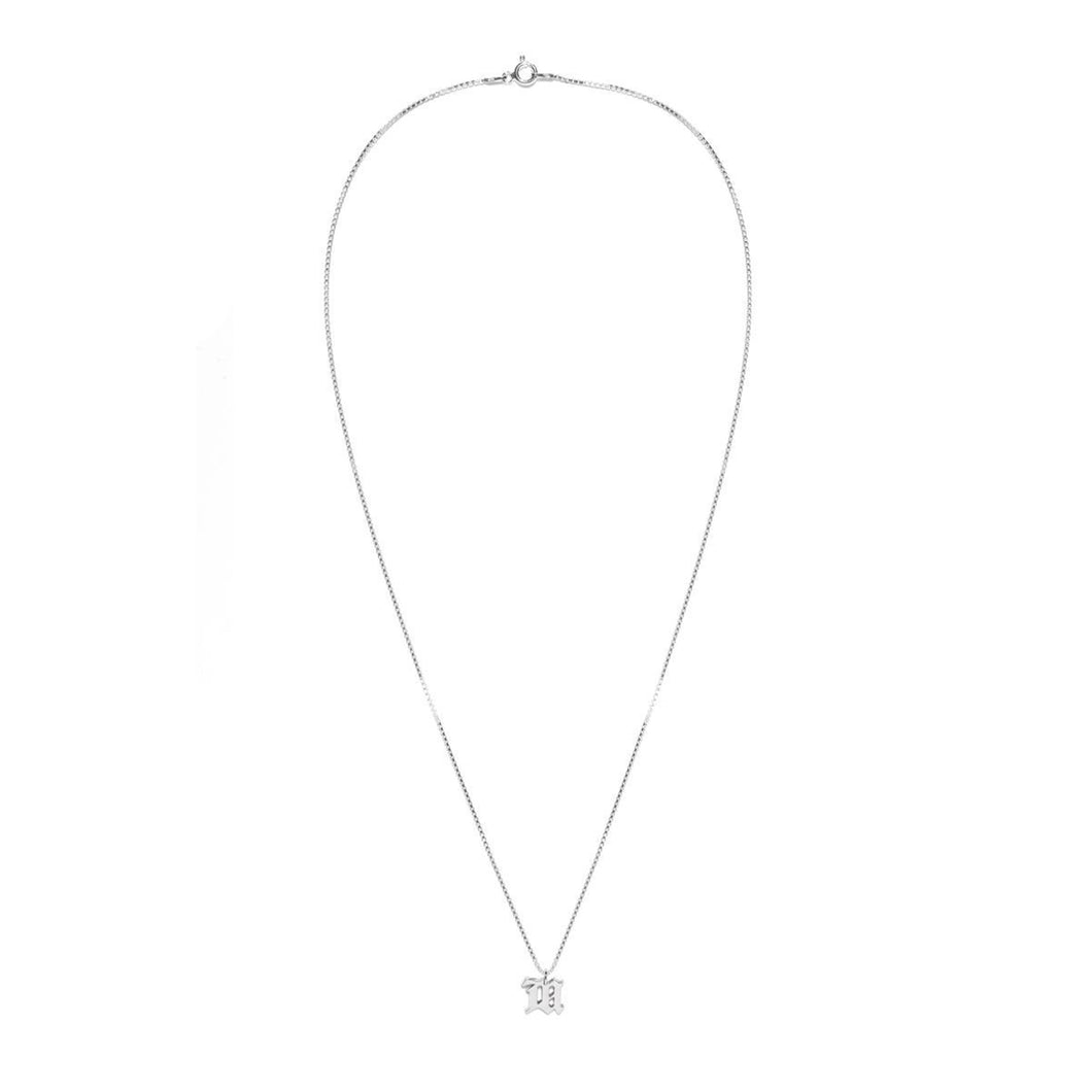 The M Necklace Silver