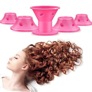 Frohland™ Lockenwickler Roller, Magic Hair, Pink