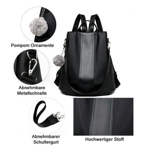 Frohland™ Antidiebstahle Doppelschultertasche
