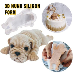 Frohland 3D Shar Pei Backsilikonform