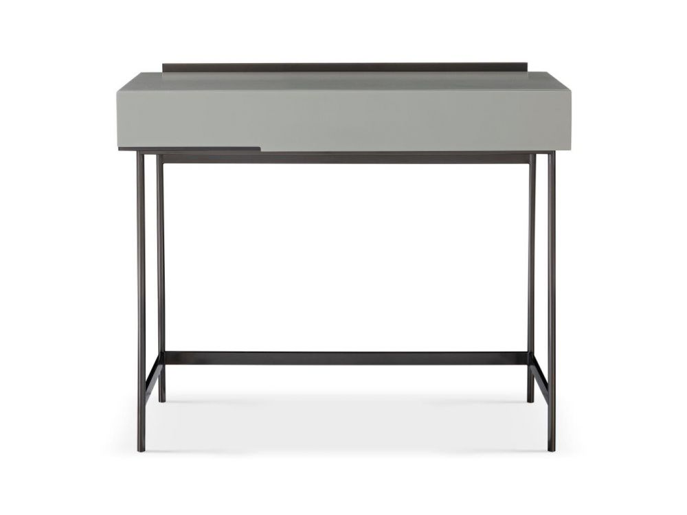 Gillmore Alberto Dark Chrome Frame Dressing Table