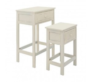 Premier Housewares Chatelet Set Of 2 Tables