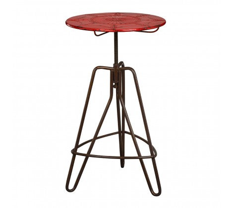 Premier Housewares Artisan Lamp Table