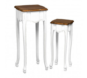 Premier Housewares Serena Set Of 2 Accent Tables