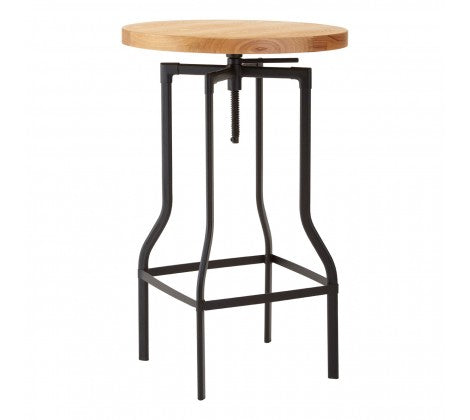 Premier Housewares Round Shape Foundry Bar Table - kudo Lounge