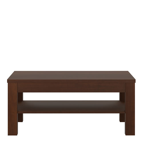 Furniture To Go Imperial Coffee Table in Dark Mahogany Melamine