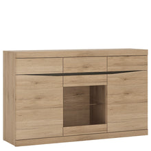 Load image into Gallery viewer, Furniture To Go Kensington 3 Door 3 Drawer Glazed Sideboard
