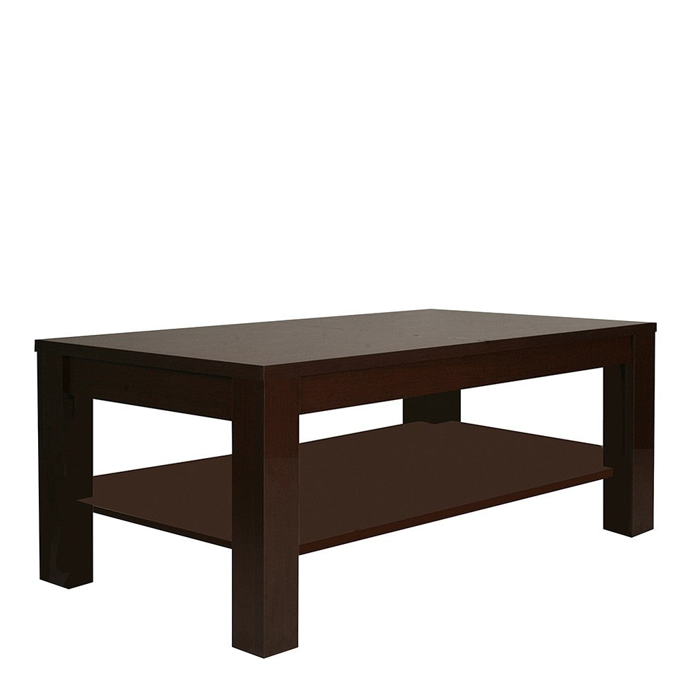 Furniture To Go Pello Large Coffee Table in Dark Mahogany