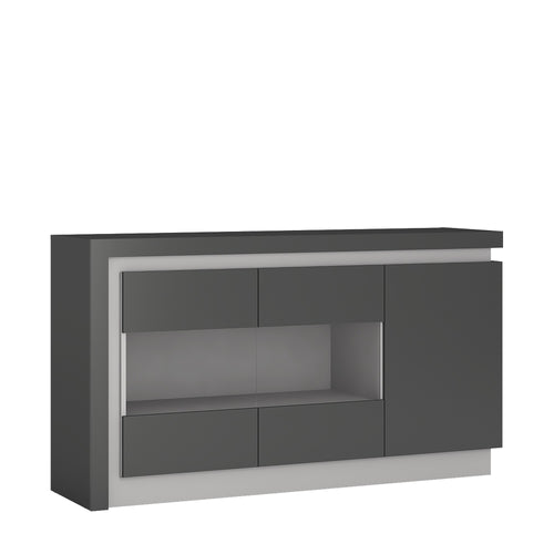 Furniture To Go Lyon 3 door glazed sideboard