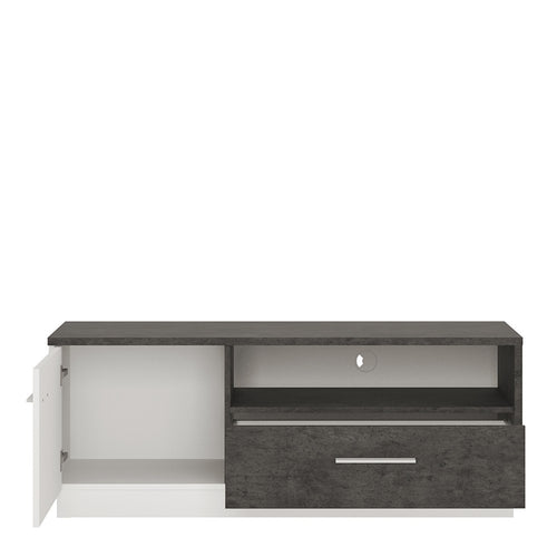 Furniture To Go Zingaro 1 door 1 drawer TV cabinet