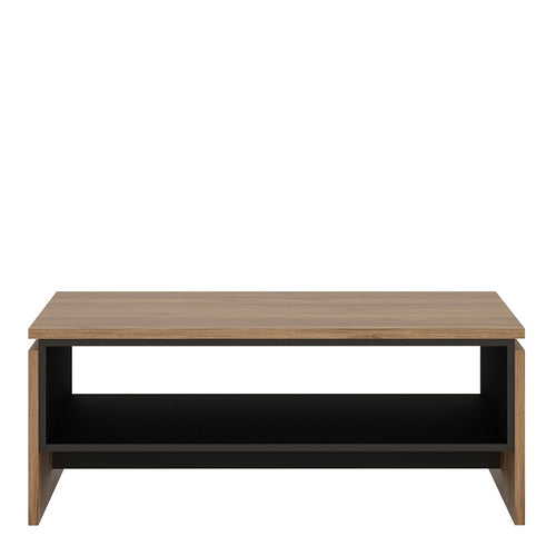 Furniture To Go Brolo Coffee Table With the walnut and dark panel finish