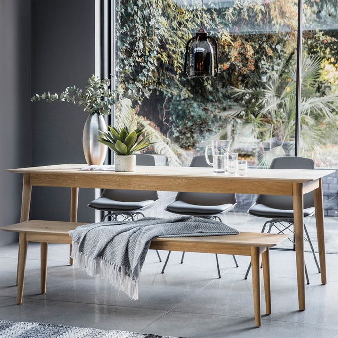 Gallery Direct Milano Extending Dining Table - kudo Lounge