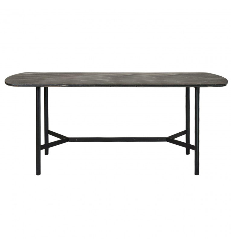 Gallery Direct Bari Dining Table Solid Acacia Wood - kudo Lounge