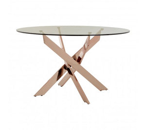 Premier Housewares Allure Intersected Round Dining Table