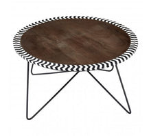 Load image into Gallery viewer, Premier Housewares Artisan Acacia Wood Coffee Table