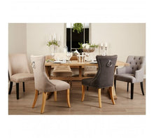 Load image into Gallery viewer, Premier Housewares Lyon Aged Grey Dining Table
